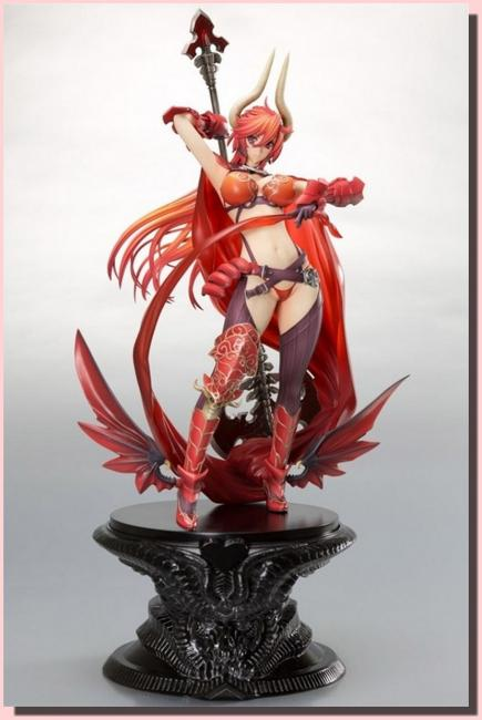 Satan Wrath Red Sexy Anime Figure
