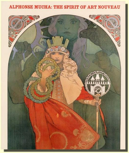 Alphonse Mucha - The Spirit of Art Nouveau