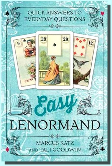 Easy Lenormand quick answers to everyday questions (36 karet a kniha)