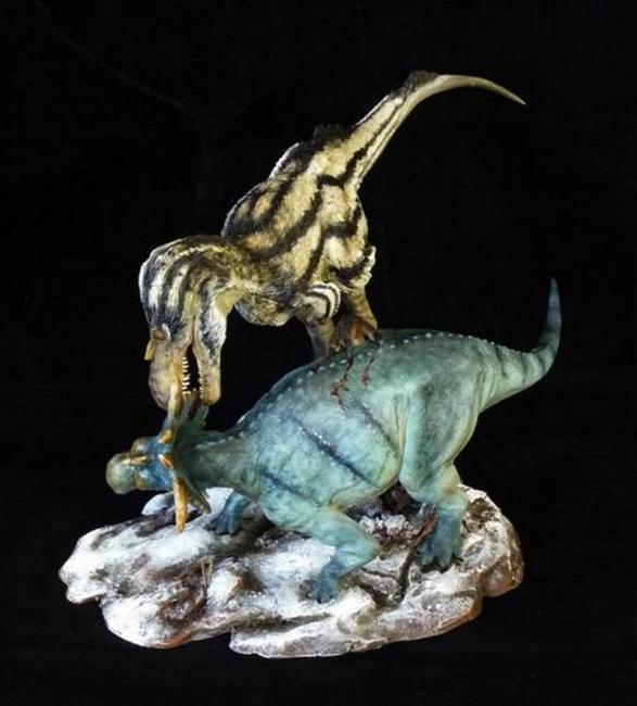 pachyrhinosaurus vs carnotaurus - photo #26