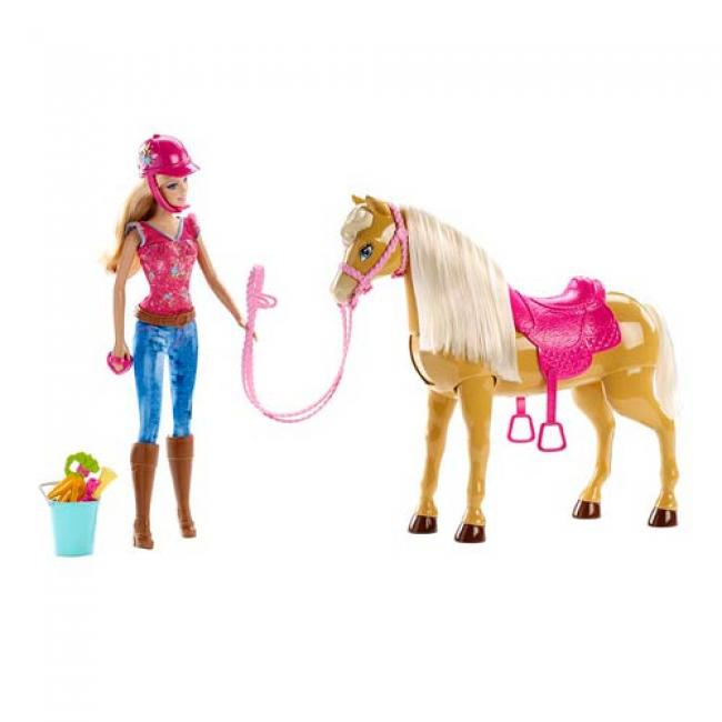 Barbie and Tawny Horse Doll