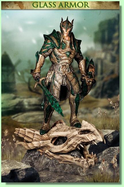 Glass Armor The Skyrim Statue 01/2017