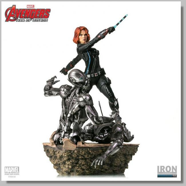 Black Widow The Avengers Sixth Scale Collectible Statue