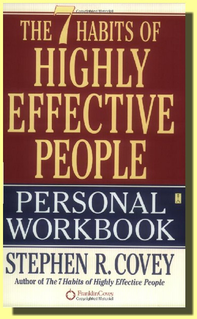 the 7 habits of highly effective people workbook pdf