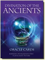 Divination of the Ancients Oracle Cards (45 karet a kniha)