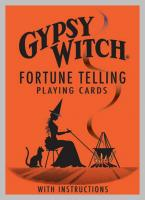 Gypsy Witch Fortune Telling Playing Cards Deck  cikánské karty dle Mlle Lenormand